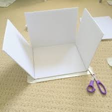 craft boxes bulk how to make custom sized storage boxes from dollar store foam boards