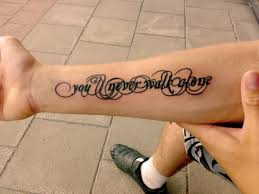you ll never walk alone font crystalis