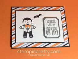 oh my cookie cutter halloween card stampin u0027 pretty
