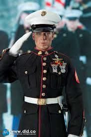 did us ceremonial marine with overcoat and m1 garand timewalker talk