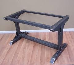 industrial style kitchen island industrial steel table base kitchen island bar legs