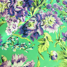 Amy Butler Home Decor Fabric by Amy Butler Love Bliss Bouquet In Emerald Green Fabric Amy Butler