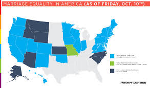 Federal Circuit Court Map What The Heck Is Going On Everywhere A Marriage Equality