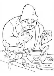 creepy coloring pages creepy frankenstein servant on halloween day coloring page color