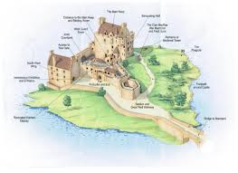 Castle Floor Plan by Eilean Donan Castle Floor Plan