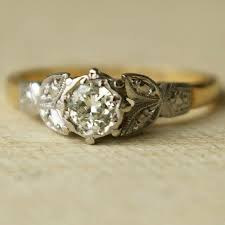 107 best 1940 s wedding rings images on rings jewels - 1940s Engagement Rings