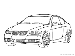 the brilliant as well as stunning sports car coloring pages