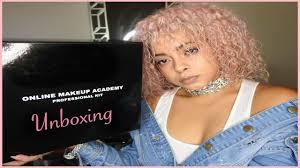 professional makeup classes online online makeup academy pro kit unboxing