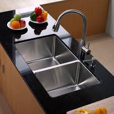 Kitchen Kraus Sink For Outstanding Quality And Durability - Double kitchen sink