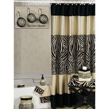 Shower Curtains Black Curtains Black And White Bathroom Curtains Shower With Flower