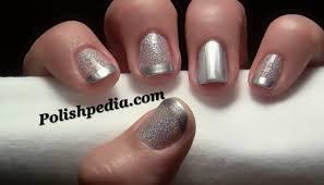 glitter french tip nail art polishpedia nail art nail guide
