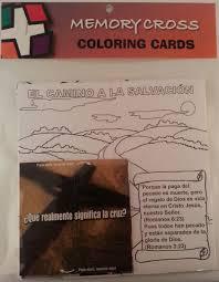 memory cross spanishsample pack free spanish christian tracts
