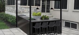 cuisine ext駻ieure design cuisines d extérieur on ne pourra plus s en passer sorel tracy et