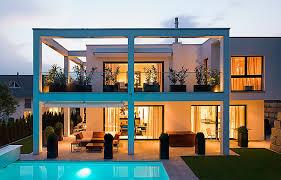 bauhaus home single family home in bauhaus style swisshaus ag