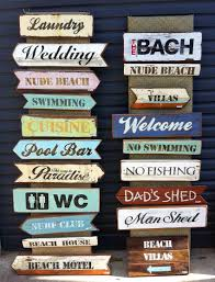 hand crafted native wood signs felt