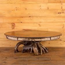 yellow wood coffee table yellow birch root base oval coffee table handmade wood coffee