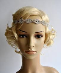 great gatsby headband rhinestone headband great gatsby headband headband