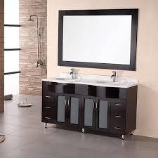 design element modern sink bathroom vanity set free