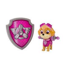 paw patrol halloween paw patrol action pack pup u0026 badge skye toys