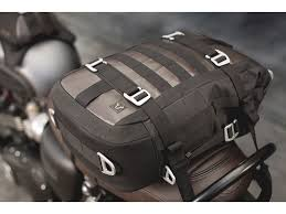 sw motech legend gear lr1 tail bag for triumph bonneville t120 made