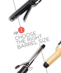 best size curling iron for medium length hair tip 1 choose the right barrel size how to curl hair like a pro