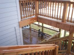 two story deck design ideas home design ideas two story deck and