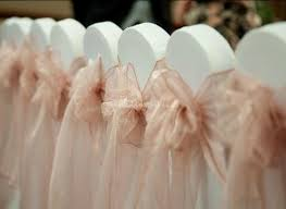 Wedding Chair Sashes Peach Wedding Chair Sashes From Perfect Finish Venue Styling Photos