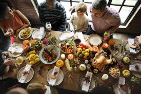 enjoy a relaxing thanksgiving dinner with the special menu at