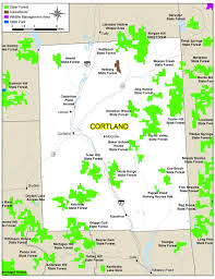 New York State Map by Cortland County Map Nys Dept Of Environmental Conservation