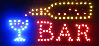 Man Cave Led Lighting by Led Bar Sign Strictlymancave Com