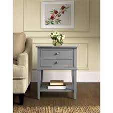 Accent Table With Drawer Ameriwood Home Franklin Accent Table With 2 Drawers Multiple