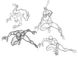 designinfusion spider man sketches