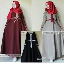 Baju Muslim Grosir grosir baju muslim aulia dress grosir baju muslim pakaian wanita