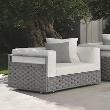 white outdoor patio chair kira by talenti modern design
