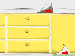 How To Paint Cabinets To Look Distressed How To Distress Cabinets With Pictures Wikihow