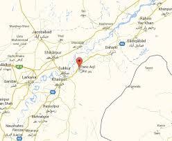 sukkur map in 609 regional workshop eme pannu aaqil cantt pakworkers