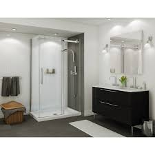 Maax Shower Door Discobath Maax Halo Corner 5 16 Frameless 44 1 2 47 X 79
