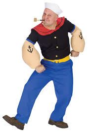 popeye the sailor man costume olive oyl and popeye costumes