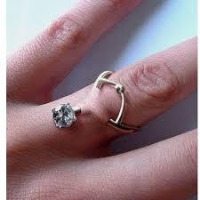 eye piercing rings images Engagement ring piercing trend popsugar fashion jpg