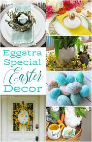 Easter Decorations For Home Delight Guests With Eggstraordinary Easter Decorating Ideas An