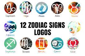 linear zodiac signs vector icon set icons creative market