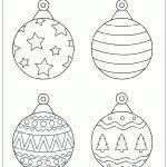 tree ornaments printable templates coloring pages intended for