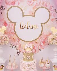 minnie mouse birthday kara s party ideas pink floral minnie mouse birthday party