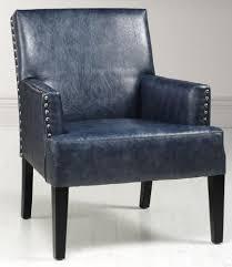 Blue Leather Armchair Blue Leather Chair U2013 Whereibuyit Com
