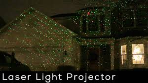 Christmas Projector Light Show by Laser Light Show Projector Product Spotlight Youtube