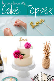 Just Like Home Design Your Own Cake by Turn Alphabet Fridge Magnets Into A Custom Cake Topper Such A