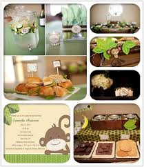 monkey baby shower theme monkey theme baby shower ideas and invitations baby shower
