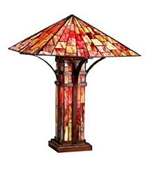 tiffany style mission double lite table lamp mission floor lamp