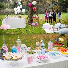 backyard decorating ideas for baby shower decoration