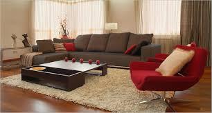 brown living room design ideas with elegant leather sofa set